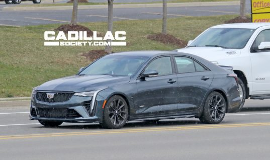 2022 Cadillac CT4-V Blackwing: Live Photos