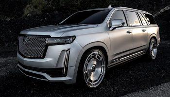 Kim Kardashian's 2021 Cadillac Escalade By Platinum Motorsport: Photos