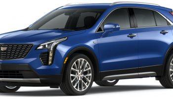 2021 Cadillac XT4 Gets New Wave Metallic Color Option