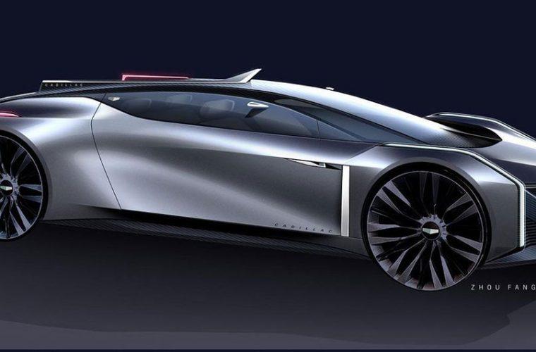 Cadillac Design Team Shares Sketch Of Avant-Garde Coupe