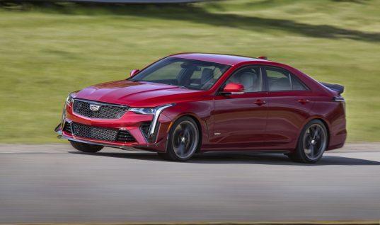2022 Cadillac CT4-V Blackwing Makes Record-Setting Downforce