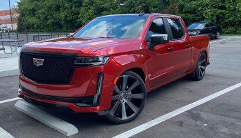 Miami Shop Creates Custom 2021 Cadillac Escalade EXT Pickup