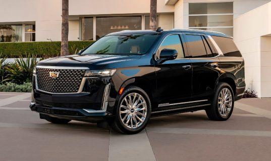 2021 Cadillac Escalade Loses Electric Steering Column Lock Feature
