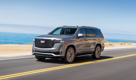 All-New 2021 Cadillac Escalade Launches In Russia