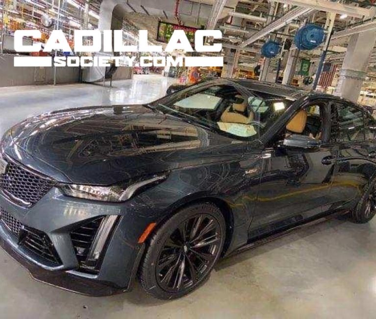 Here's The First 2022 Cadillac CT5-V Blackwing To Be Produced
