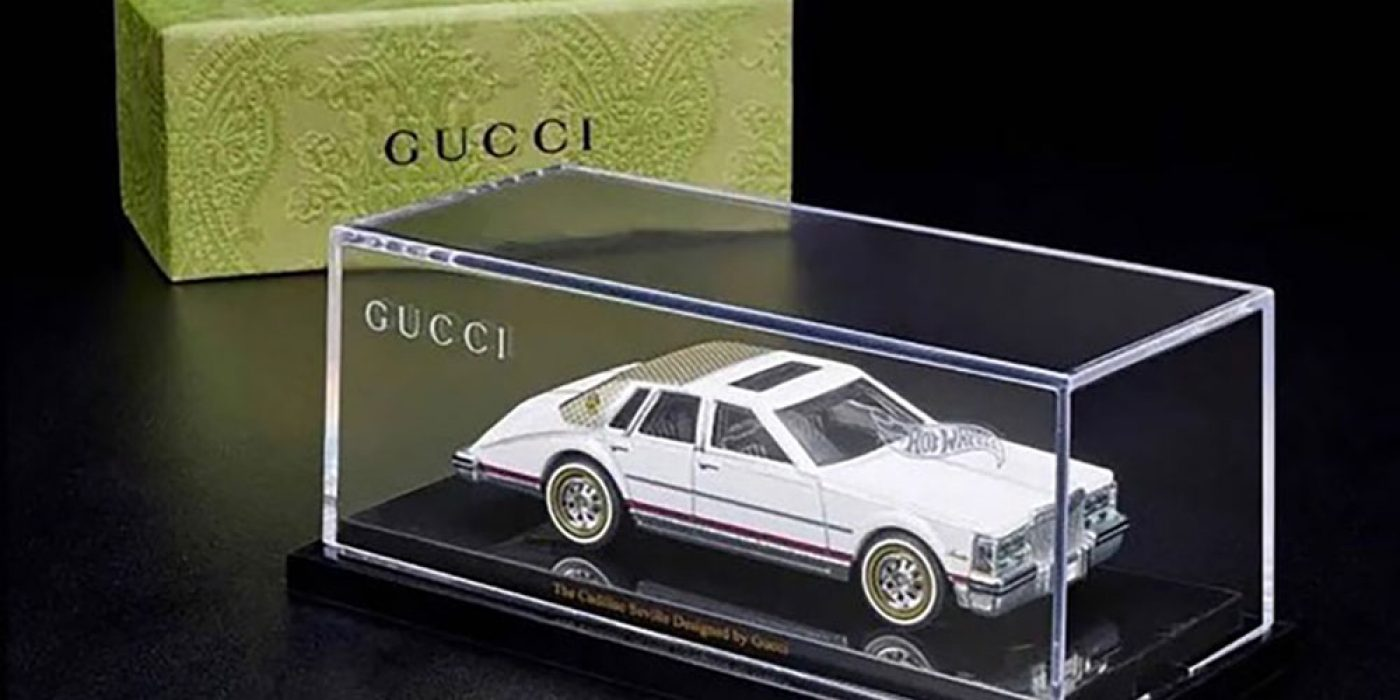 Mattel Announces Hot Wheels Cadillac Seville Collab With Gucci